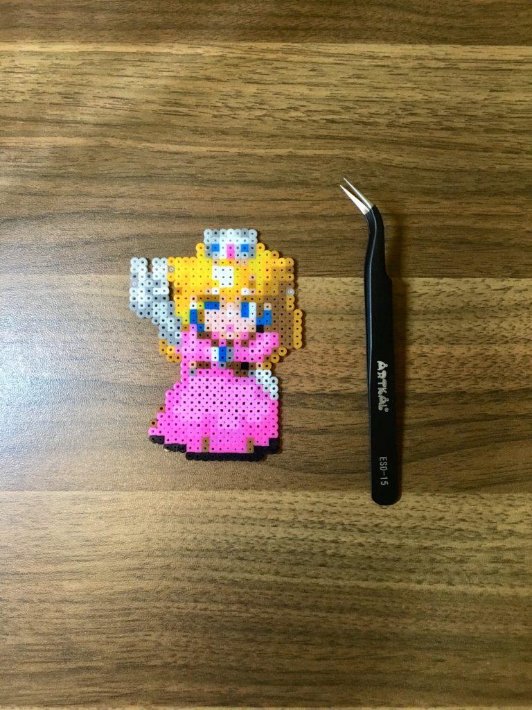 マリオRPG ピーチ姫 アイロンビーズ